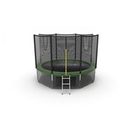Батут EVO JUMP EXTERNAL 12 FT GREEN + LOWER NET, фото 1